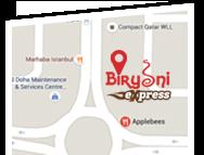 Biryani Express Qatar | Order biryani online in Qatar
